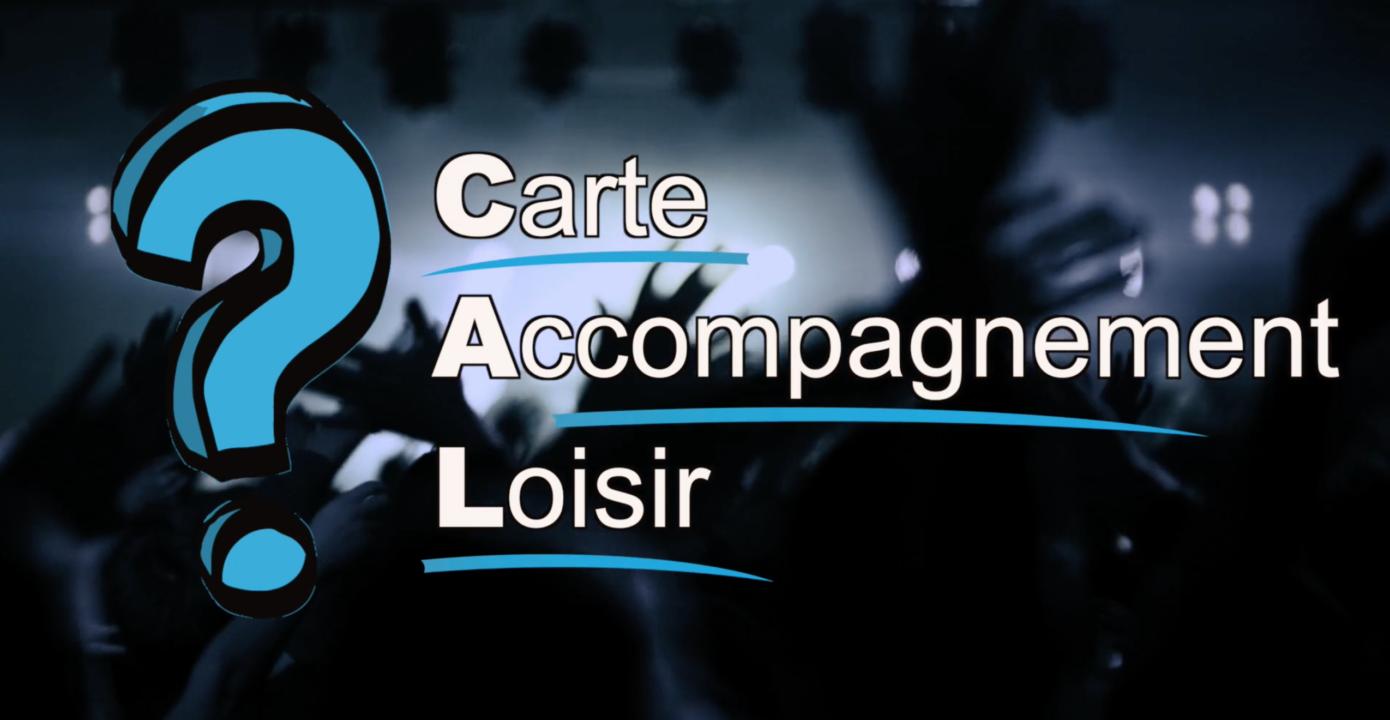 Carte Accompagnement Loisir - Pour l'Association québécoise pour les loisirs des personnes handicapés (AQLPH)