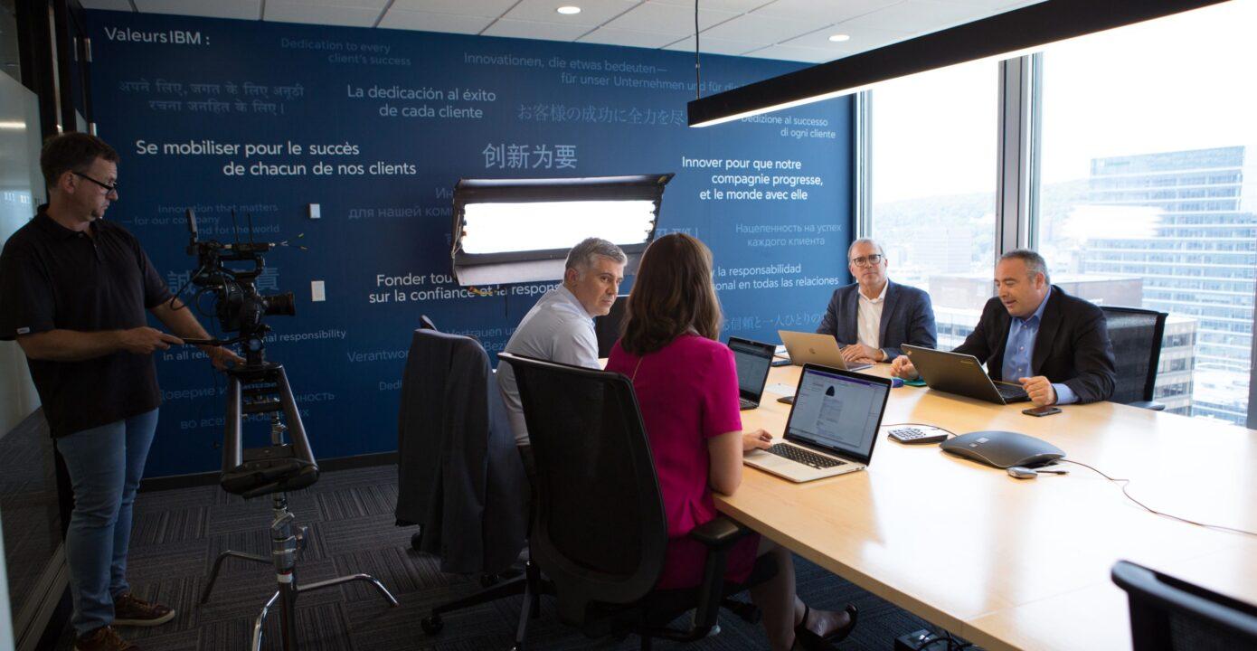 Chez IBM, Pluritag discute développement - 12 août 2019